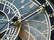 Vieux visage d'horloge images stock