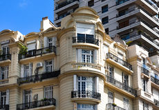 Vieux visage de Buenos Aires Photos libres de droits