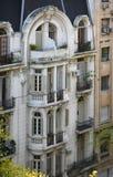 Vieux visage de Buenos Aires Photographie stock libre de droits