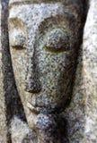 Vieux visage en pierre Image libre de droits