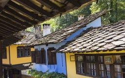 Vieux voisinage bulgare Photo libre de droits