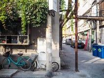 Vieux voisinage traditionnel dans Tianjin photos libres de droits