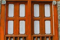 Vieux volets texturisés Photos libres de droits