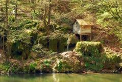 Vieux watermill Images libres de droits