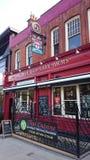 Vieux Wellington Inn à Manchester Photos stock