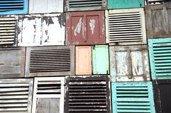 Vieux Windows Images stock