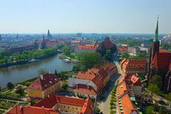 Vieux Wroclaw, Pologne images stock