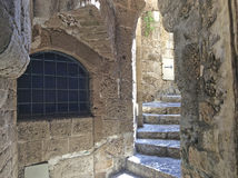 Vieux Yaffo (Jaffa, Yafo), Tel Aviv, Israël image stock