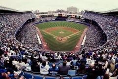 Vieux Yankee Stadium, Bronx, NY Photographie stock libre de droits