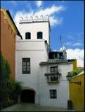 Vieux yard en Séville Image libre de droits