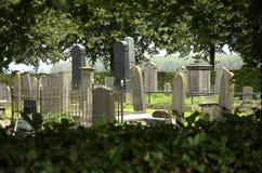 Vieux yard grave Photos stock
