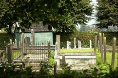 Vieux yard grave Image stock