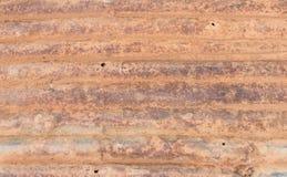 Vieux zinc rouillé Photographie stock libre de droits