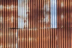 Vieux zink Photographie stock libre de droits