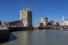 Vieuxhaven - La Rochelle - Frankrijk stock afbeelding
