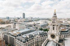 Viev d'antenne de Londres Image libre de droits