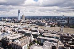 Viev de la antena de Londres imágenes de archivo libres de regalías