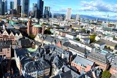 Viev geral do Francoforte - am - cano principal Imagem de Stock Royalty Free