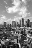 Viev geral do Francoforte - am - cano principal imagens de stock royalty free