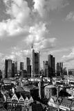 Viev geral do Francoforte - am - cano principal fotos de stock royalty free