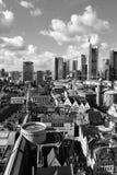 Viev geral do Francoforte - am - cano principal foto de stock royalty free