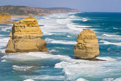 View of the 12 Apostles at Great Ocean Road, Melbo Stock Image