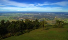 The View. Over the south coast of NSW, Australia from the Camberwarra lookout Royalty Free Stock Images