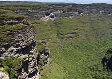 A view. Of the chapada mountains Royalty Free Stock Photography