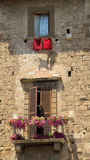 The view. Of piece historical building in the Tuscany Stock Photo