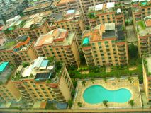 View. Buildings at Shantou, China Stock Photo