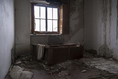 View of a abandoned house. Spain stock images