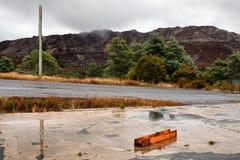 Old township of Gormaston Tasmania royalty free stock photography