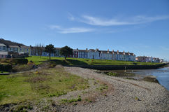 View of Aberaeron west Wales uk Royalty Free Stock Photos