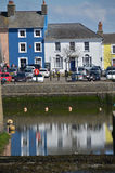 View of Aberaeron west Wales uk Royalty Free Stock Photo