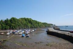 View of Aberdour Harbour Stock Photos