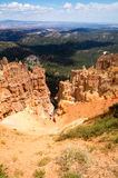 View from above of Bryce Canyon. Bryce Canyon National Park, Utah USA Stock Images
