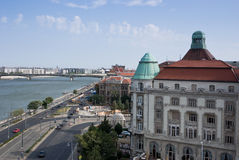 City of Budapest. View from above of Budapest, in Hungary Stock Photography