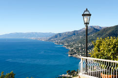 View above Camogli Royalty Free Stock Photography