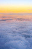 View above clouds Stock Photo