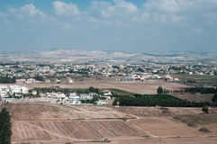 View above of Cypriot settlement Stock Image