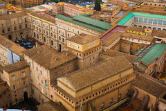 View above downtown of Rome Stock Photography