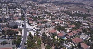 View from above drone stock footage