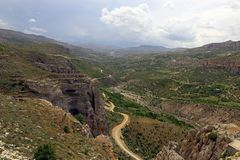 Levent Valley in Turkey Stock Images