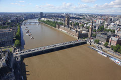 View above London, United Kingdom Stock Photos