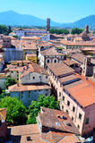 View from above of Lucca Royalty Free Stock Photography