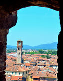 View from above of Lucca Stock Photos