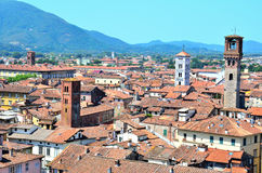 View from above of Lucca Stock Photography