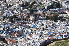 View from above of a maroccan village Stock Images