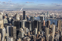 View above New York Royalty Free Stock Photography