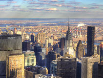 View above New York Royalty Free Stock Photos